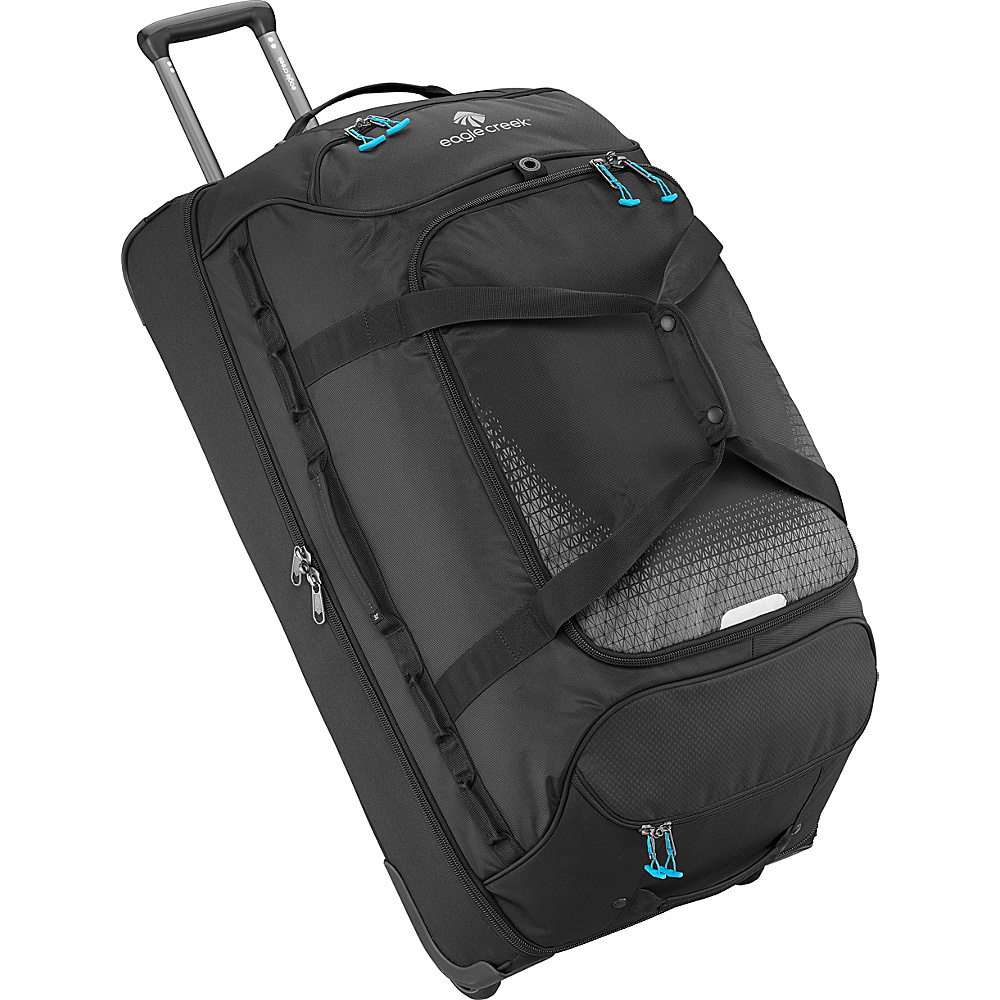 Eagle Creek Expanse Drop Bottom Wheeled Duffel 32 Black - Eagle Creek Softside Checked - Luggage, Softside Checked