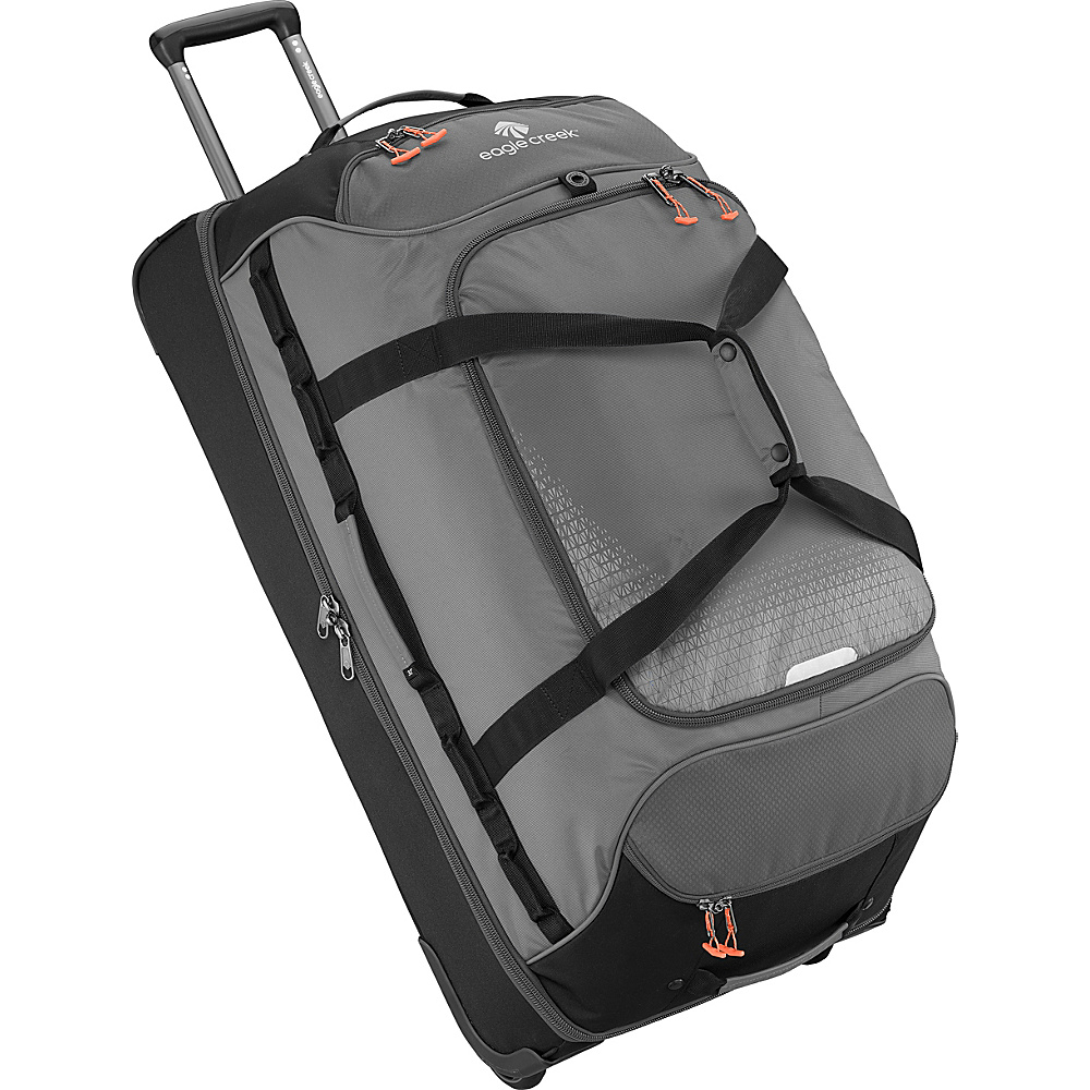 Eagle Creek Expanse Drop Bottom Wheeled Duffel 32 Stone Grey - Eagle Creek Softside Checked - Luggage, Softside Checked