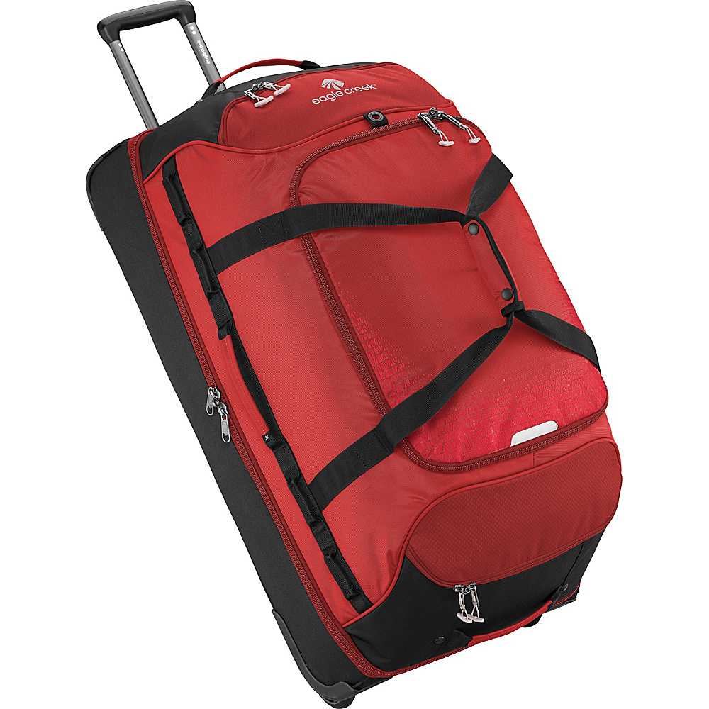 Eagle Creek Expanse Drop Bottom Wheeled Duffel 32 Volcano Red - Eagle Creek Softside Checked - Luggage, Softside Checked