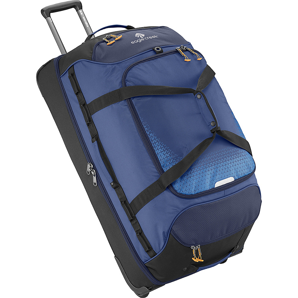Eagle Creek Expanse Drop Bottom Wheeled Duffel 32 Twilight Blue - Eagle Creek Softside Checked - Luggage, Softside Checked