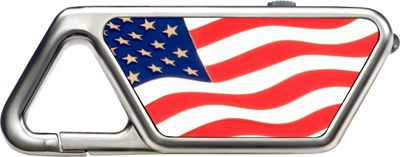 ASP Sapphire Aluminum Rechargeable Light American Flag - ASP Travel Electronics