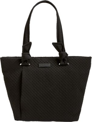 Vera Bradley Hadley East West Tote - Solids Classic Black - Vera Bradley Fabric Handbags