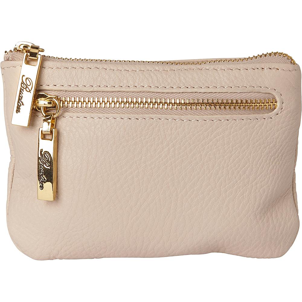 Buxton Florence Mini Zip Pouch White - Buxton Womens Wallets - Women's SLG, Women's Wallets