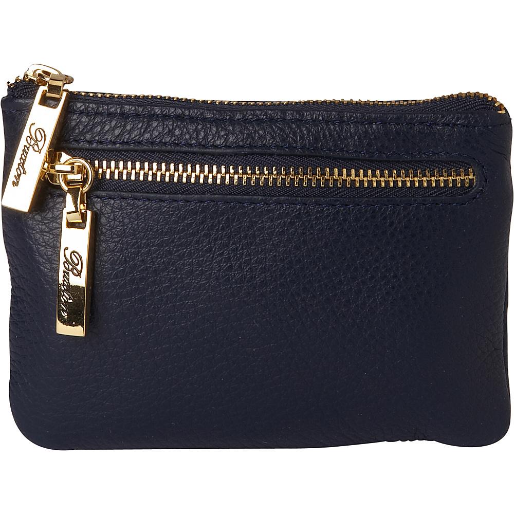 Buxton Florence Mini Zip Pouch Blue - Buxton Womens Wallets - Women's SLG, Women's Wallets