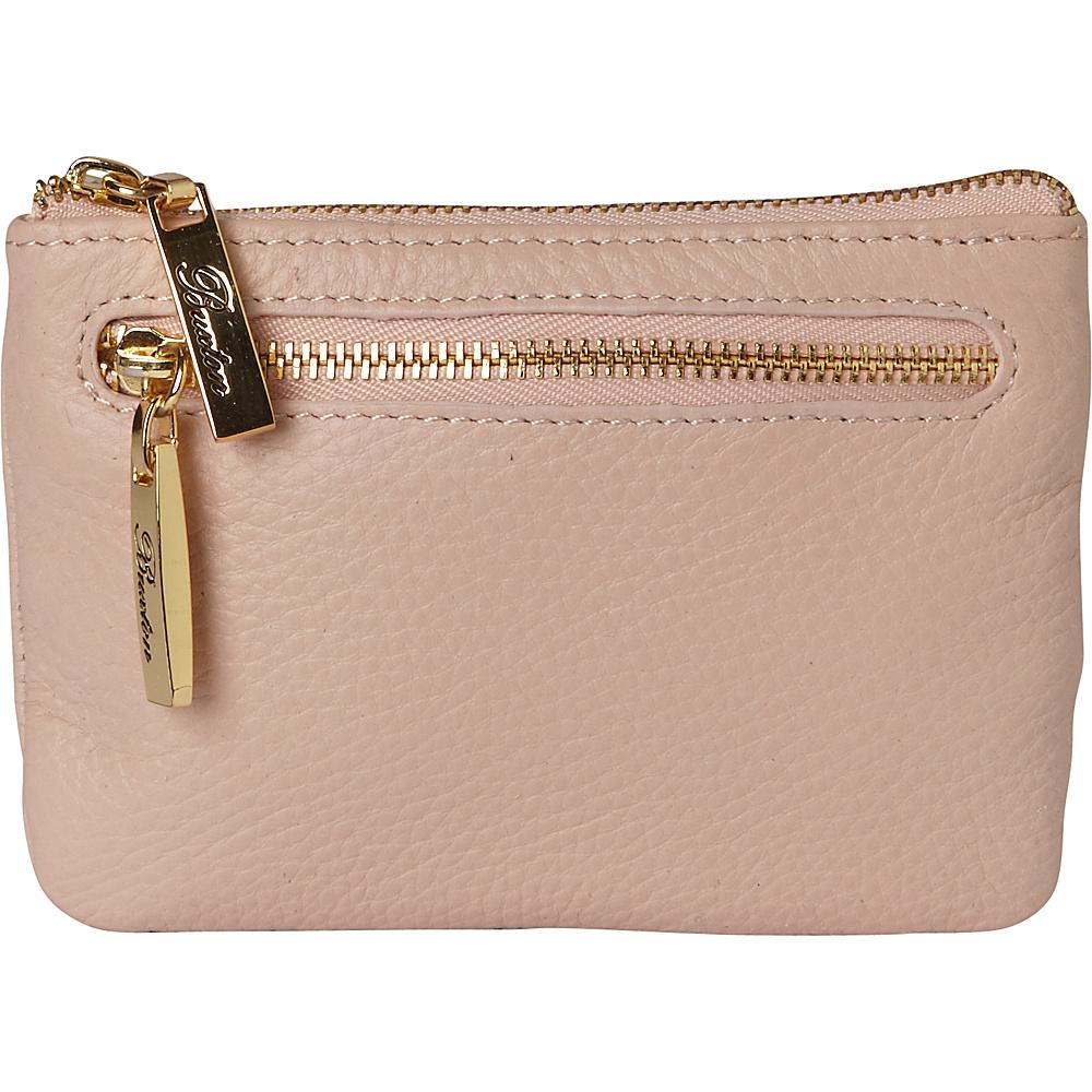 Buxton Florence Mini Zip Pouch Bone - Buxton Womens Wallets - Women's SLG, Women's Wallets