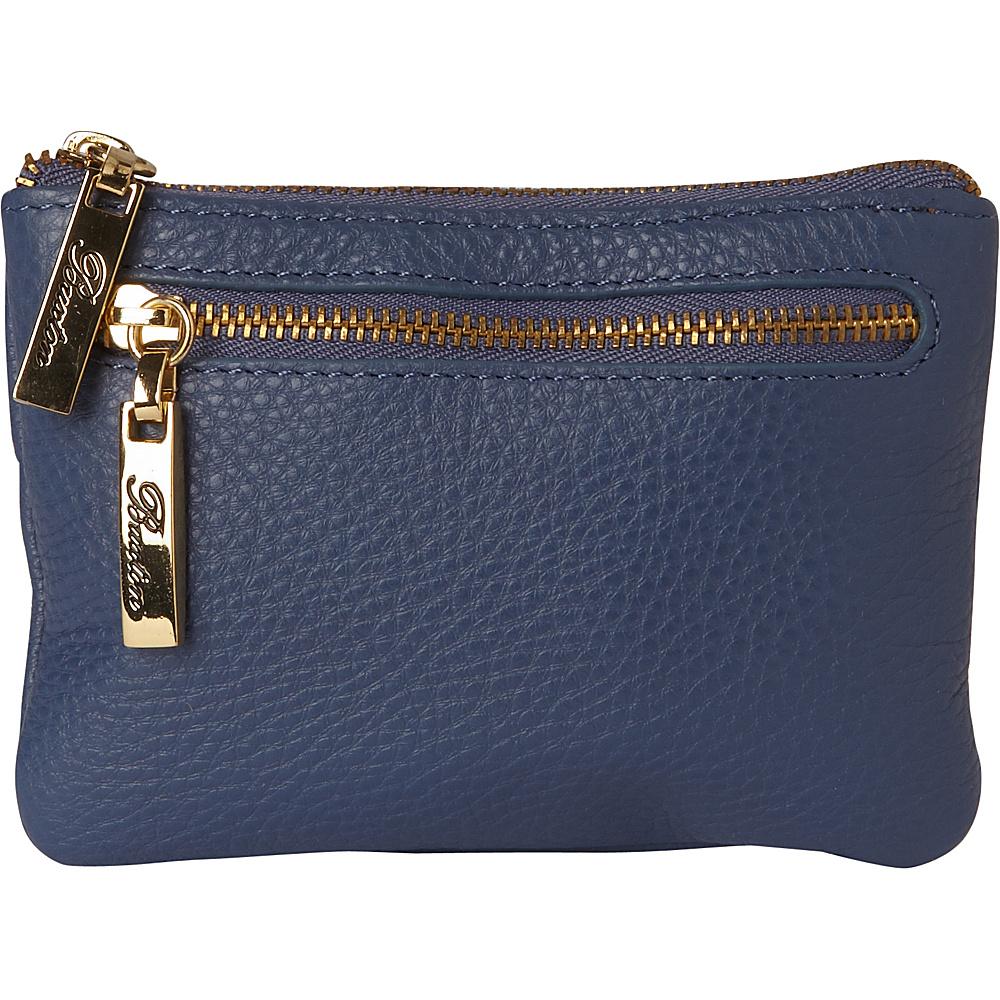 Buxton Florence Mini Zip Pouch Light Blue - Buxton Womens Wallets - Women's SLG, Women's Wallets
