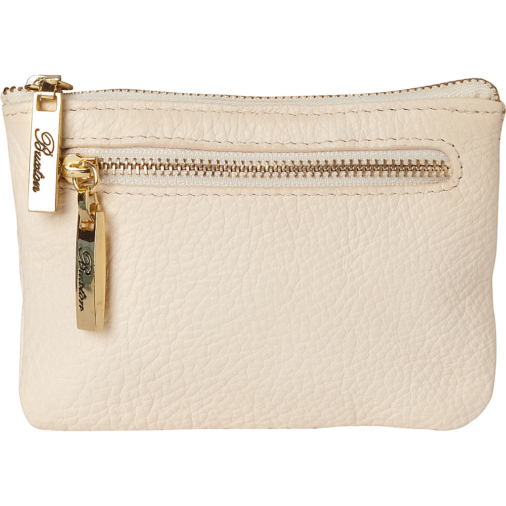 Buxton Florence Mini Zip Pouch Natural Beige - Buxton Womens Wallets - Women's SLG, Women's Wallets
