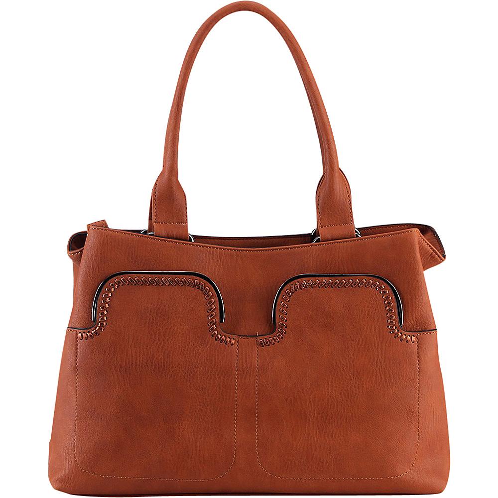 MKF Collection Zyana Handbag Brown - MKF Collection Manmade Handbags - Handbags, Manmade Handbags