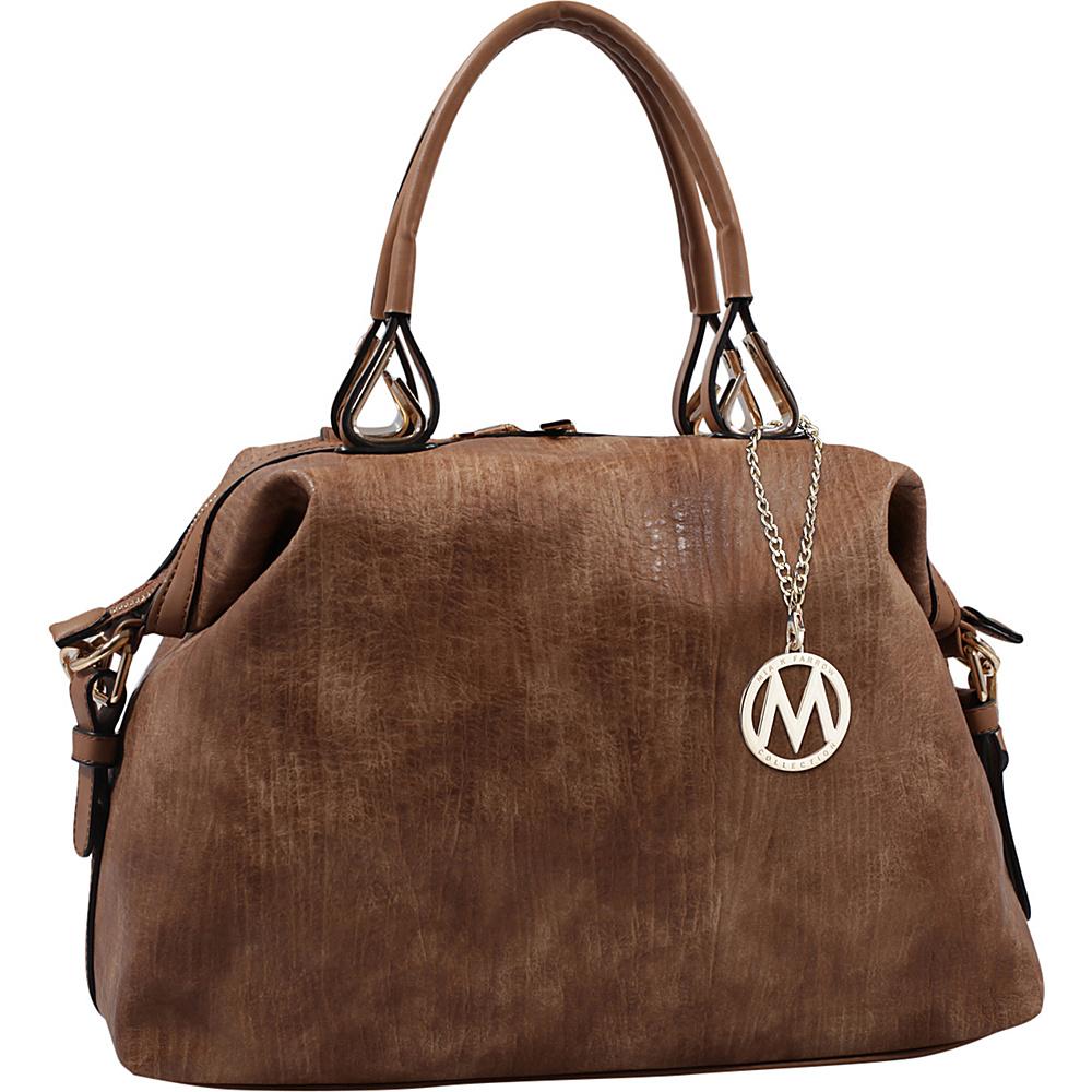 MKF Collection by Mia K. Farrow Angelina Duffle Bag Brown - MKF Collection by Mia K. Farrow Manmade Handbags - Handbags, Manmade Handbags
