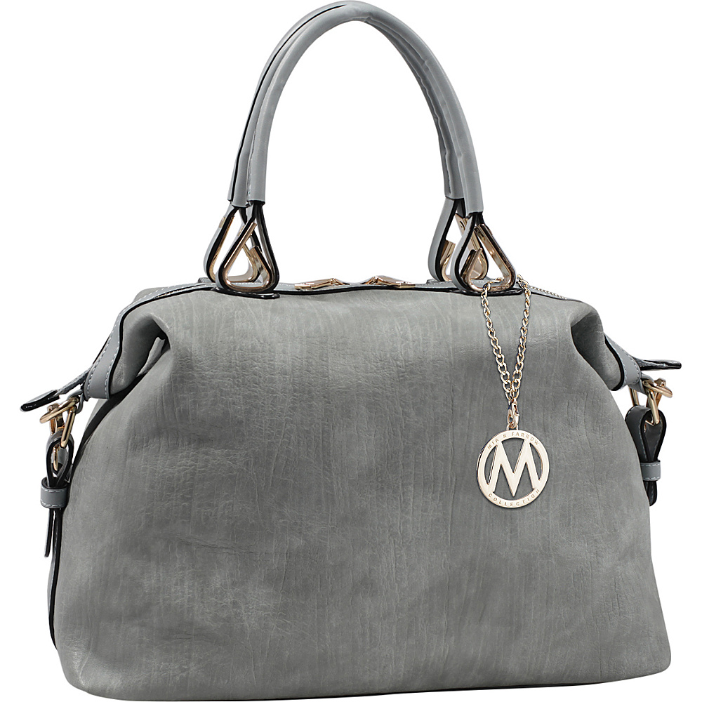 MKF Collection by Mia K. Farrow Angelina Duffle Bag Light Blue - MKF Collection by Mia K. Farrow Manmade Handbags - Handbags, Manmade Handbags