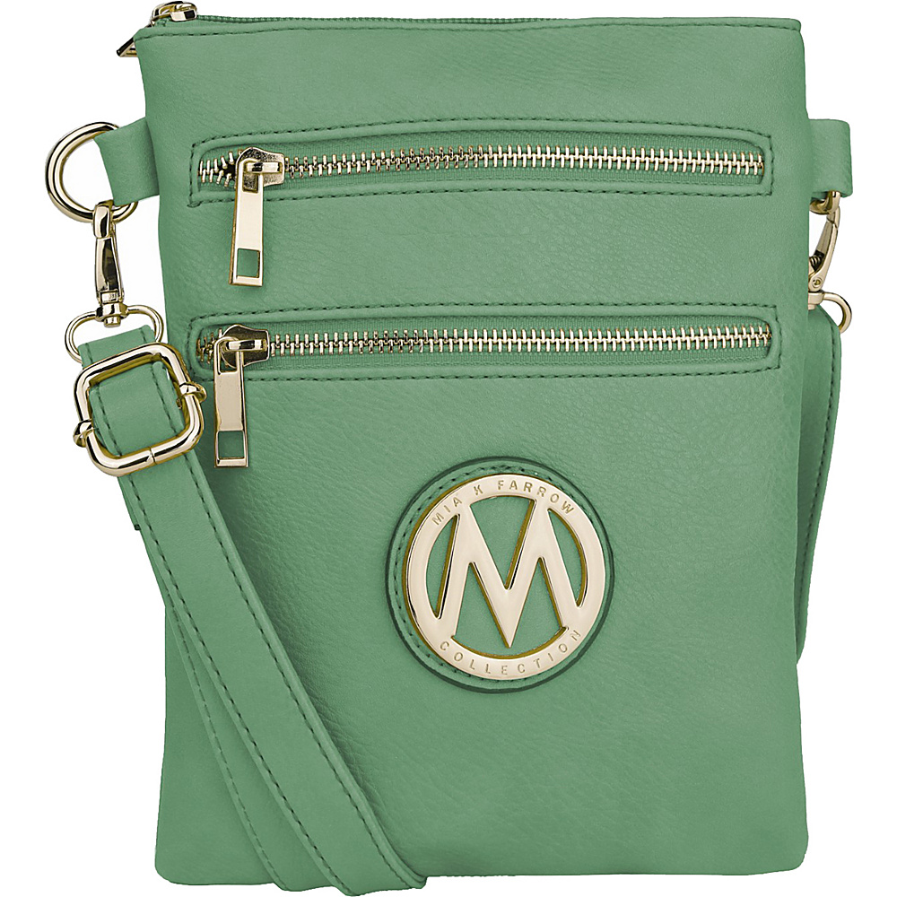 MKF Collection by Mia K. Farrow Medina Crossbody Seafoam - MKF Collection by Mia K. Farrow Manmade Handbags - Handbags, Manmade Handbags