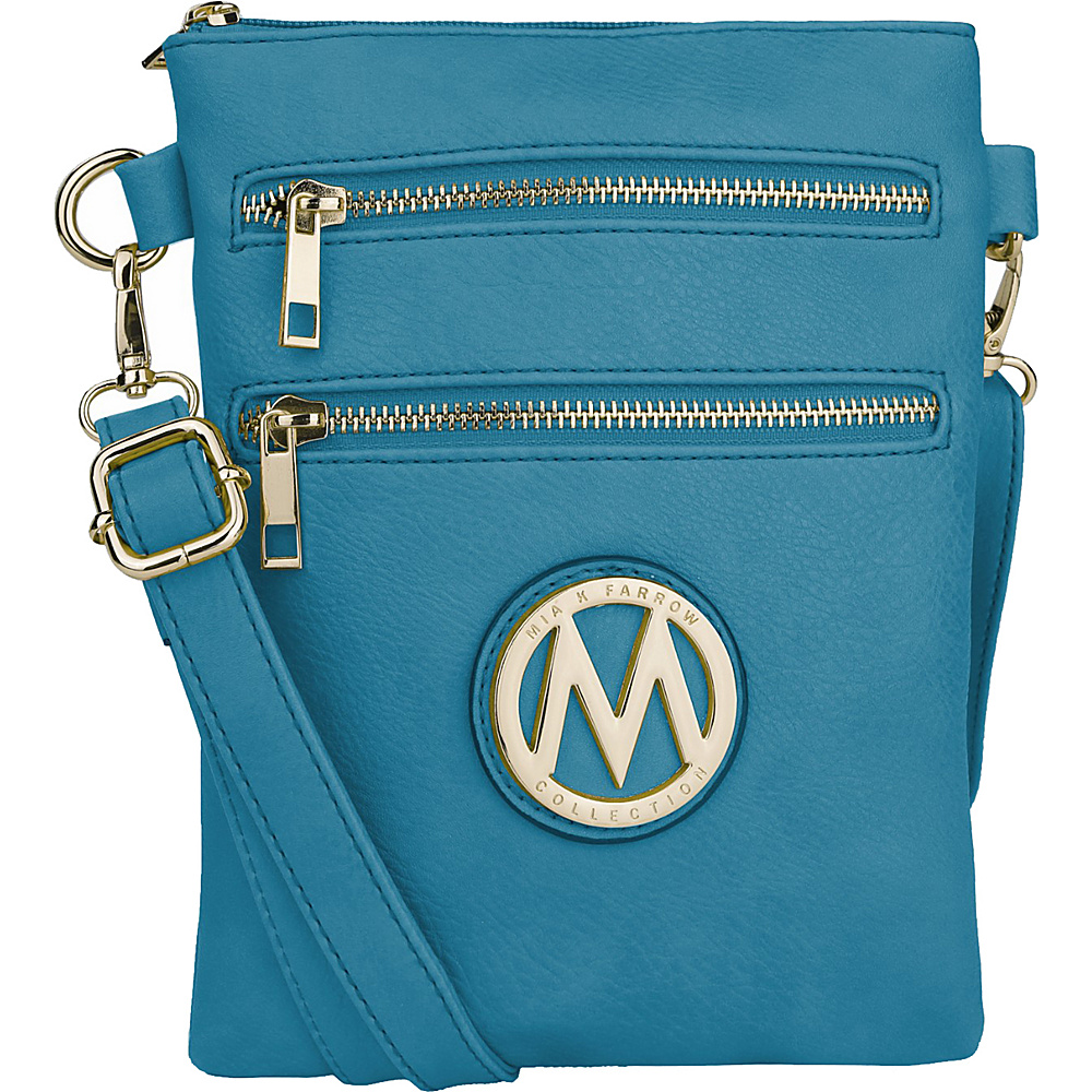 MKF Collection Medina Crossbody Turquoise - MKF Collection Manmade Handbags - Handbags, Manmade Handbags
