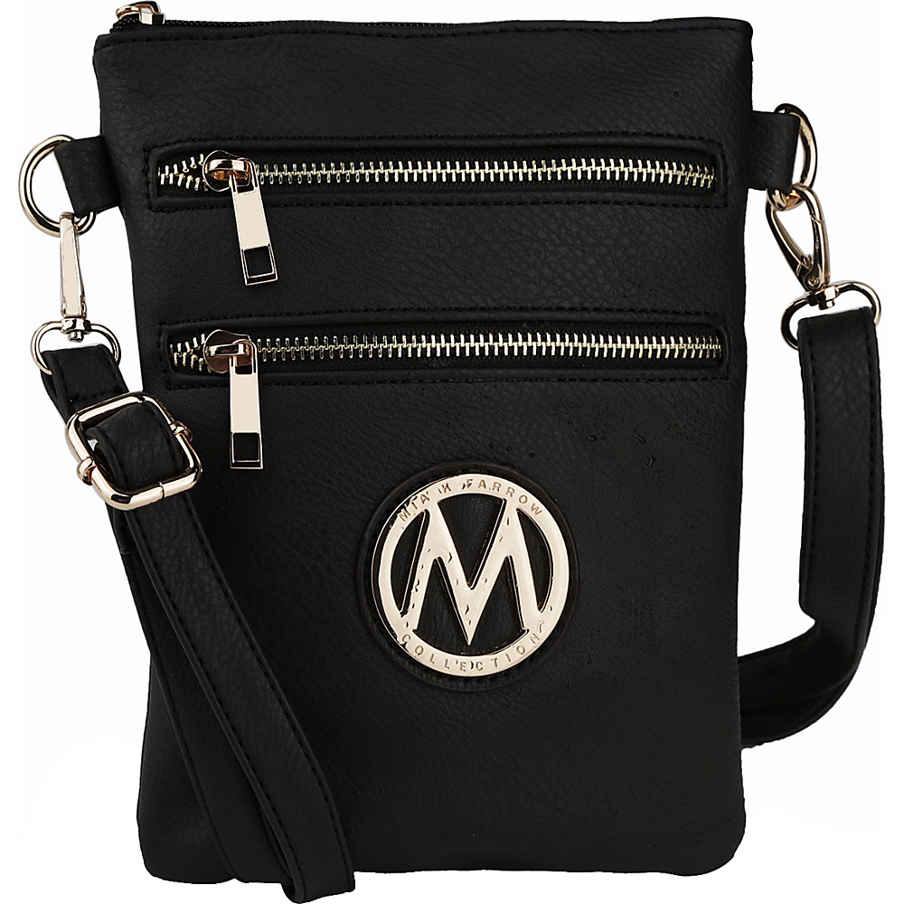 MKF Collection Medina Crossbody Black - MKF Collection Manmade Handbags - Handbags, Manmade Handbags