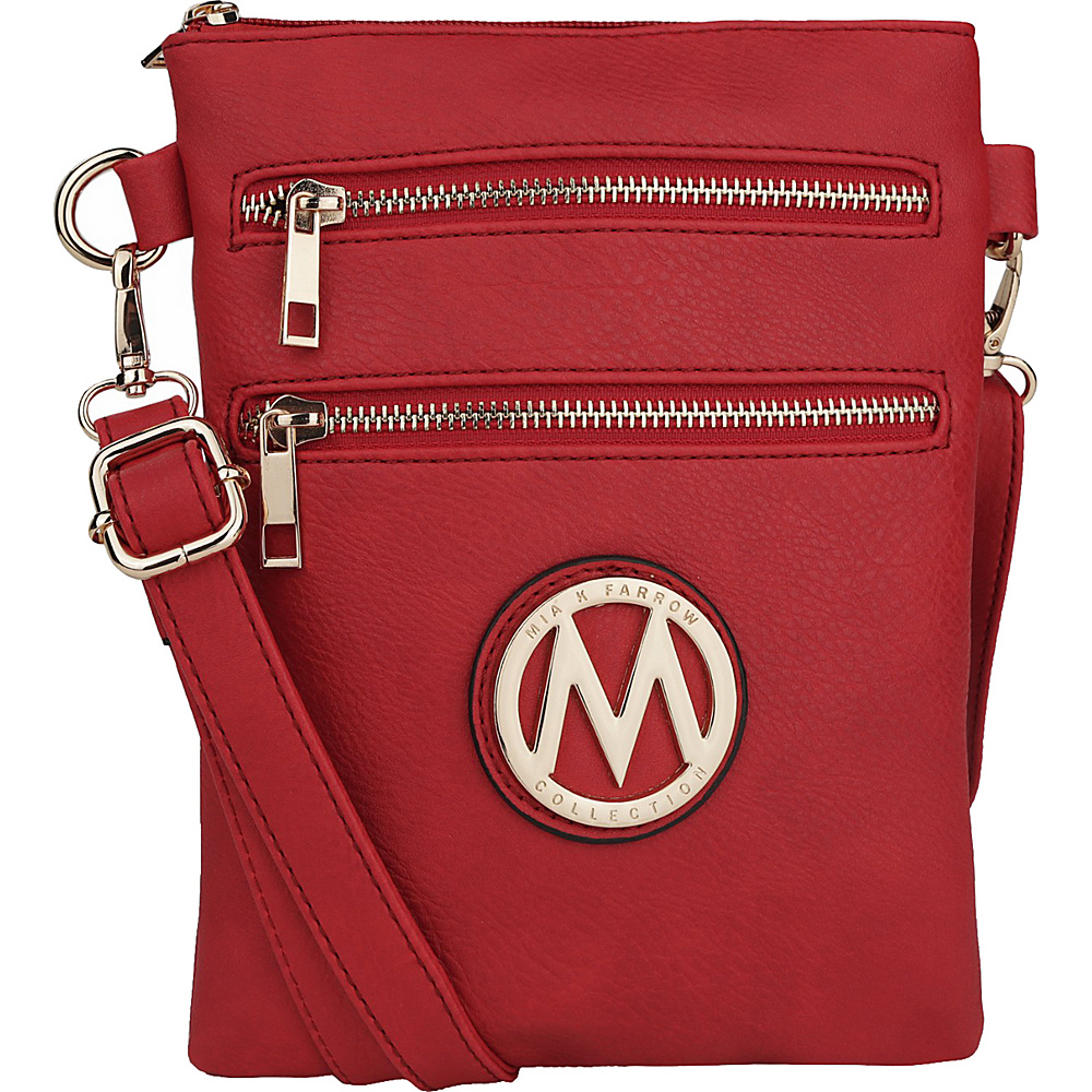 MKF Collection Medina Crossbody Red - MKF Collection Manmade Handbags - Handbags, Manmade Handbags