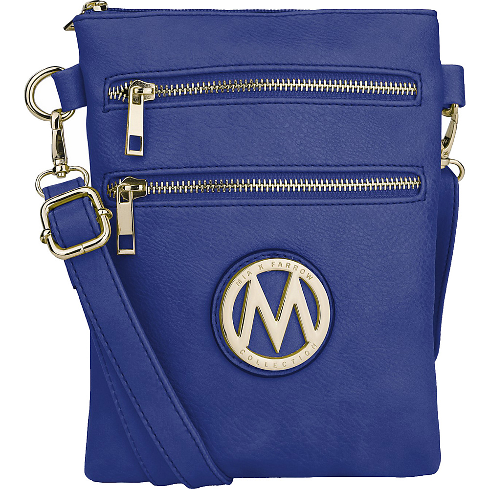 MKF Collection Medina Crossbody Royal Blue - MKF Collection Manmade Handbags - Handbags, Manmade Handbags