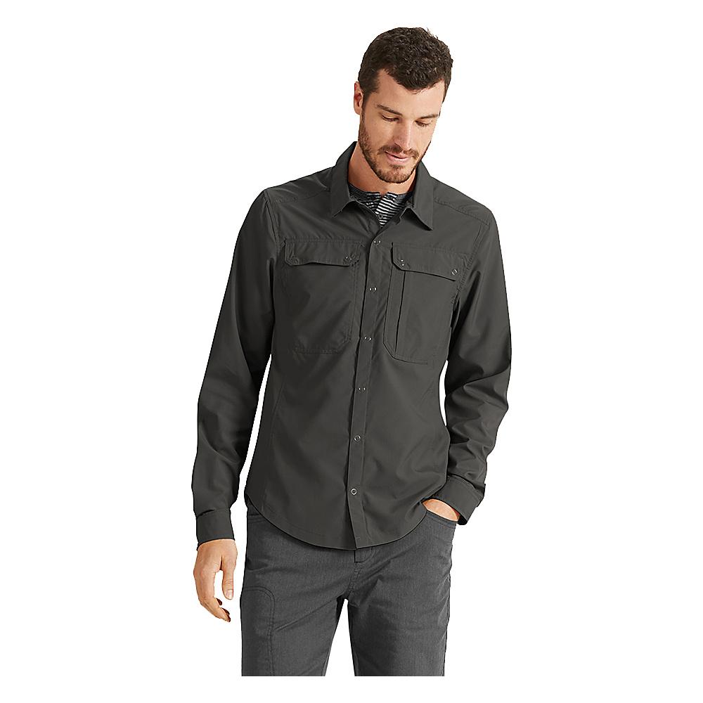 NAU Clothing Mens Slight Shirt XS - Tarmac - NAU Clothing Mens Apparel - Apparel & Footwear, Men's Apparel