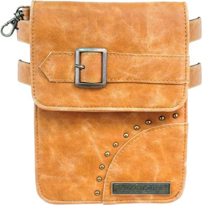 SmarterGarter Bohemia 4.0 Hands-Free Purse Tan - Small - SmarterGarter Manmade Handbags