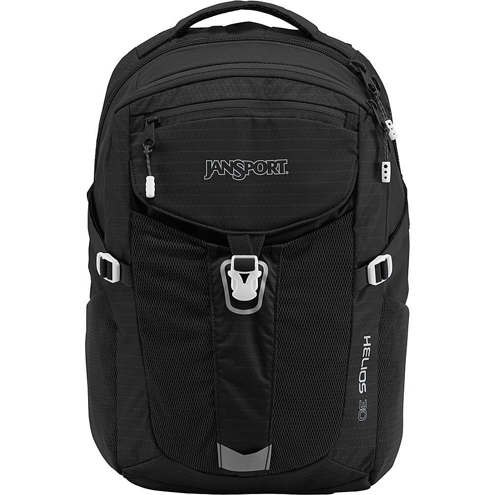 JanSport Helios 30 Laptop Backpack Black - JanSport Laptop Backpacks