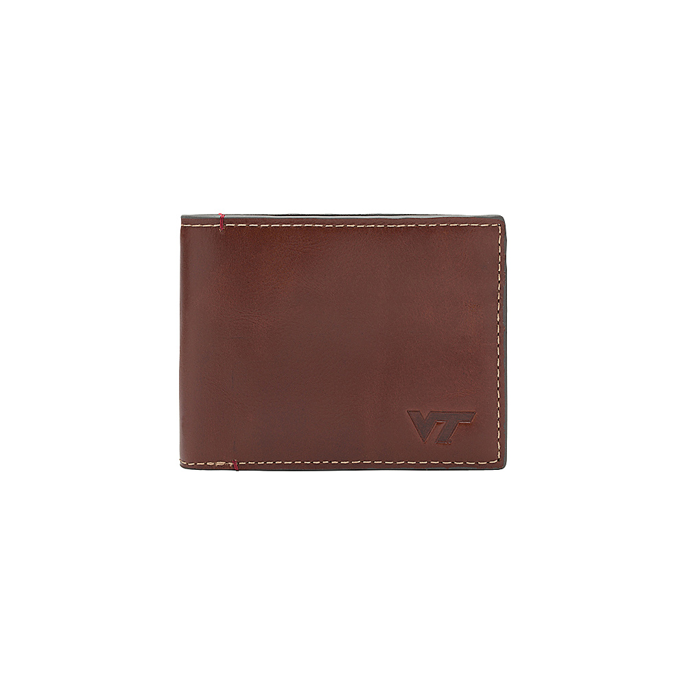 Jack Mason League NCAA Hangtime Slim Bifold Virginia Tech Hokies - Jack Mason League Mens Wallets - Work Bags & Briefcases, Men's Wallets