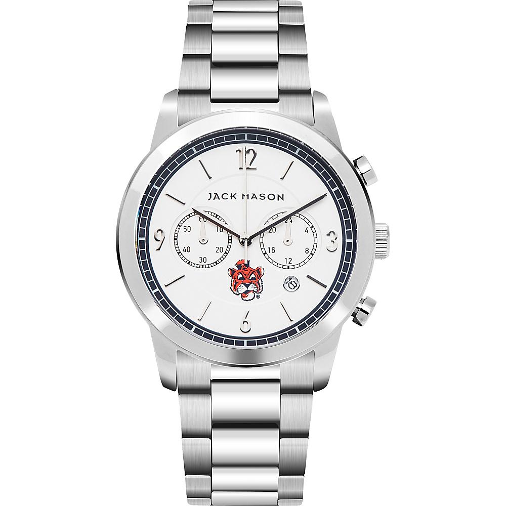 Jack Mason League NCAA Chronograph Bracelet Watch Auburn Tigers - Jack Mason League Watches - Fashion Accessories, Watches