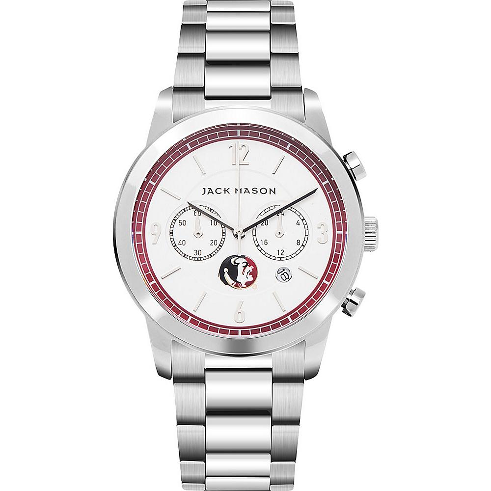Jack Mason League NCAA Chronograph Bracelet Watch Florida State Seminoles - Jack Mason League Watches - Fashion Accessories, Watches