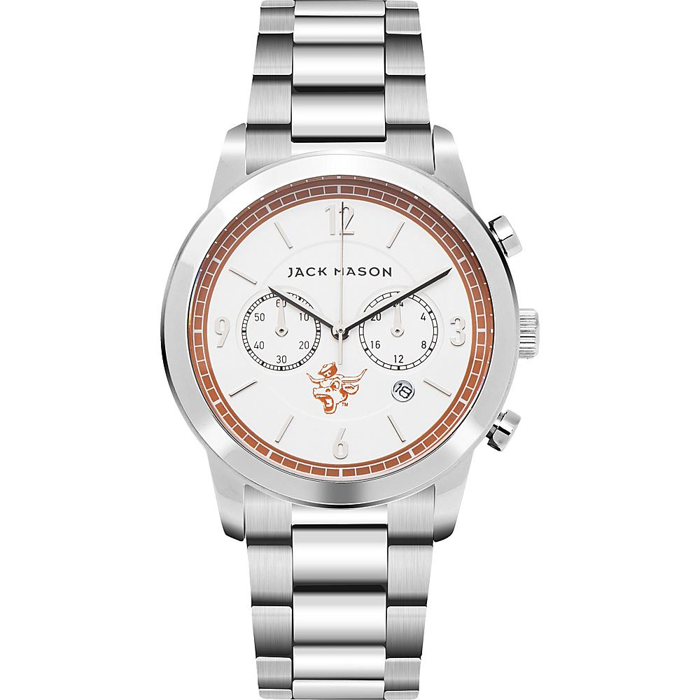 Jack Mason League NCAA Chronograph Bracelet Watch Texas Longhorns - Jack Mason League Watches - Fashion Accessories, Watches
