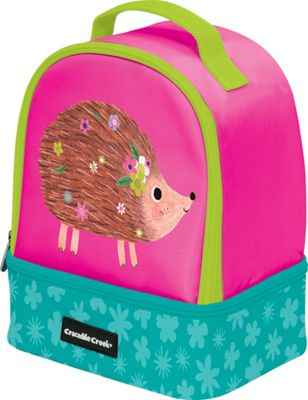 Crocodile Creek Inc Hedgehog Double Decker Lunchbox Hedgehog - Crocodile Creek Inc Travel Coolers