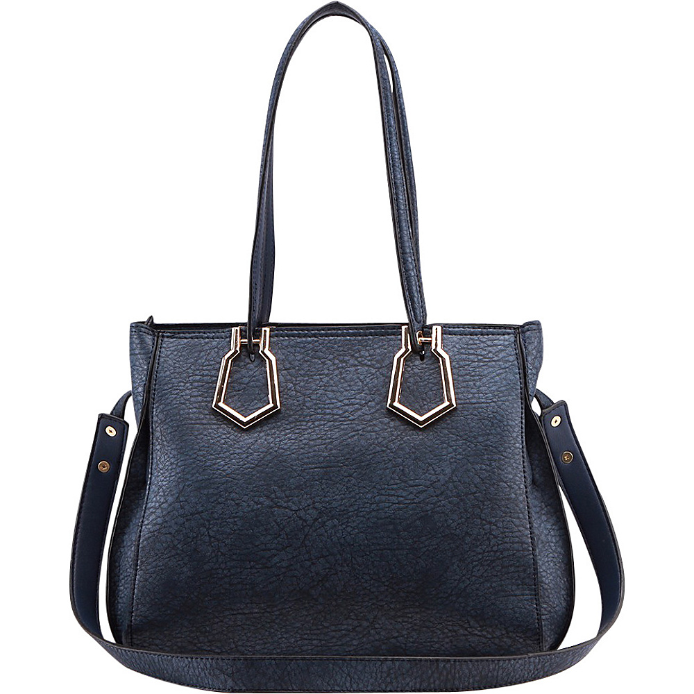 MKF Collection by Mia K. Farrow Jannet Shoulder Bag Blue - MKF Collection by Mia K. Farrow Manmade Handbags - Handbags, Manmade Handbags