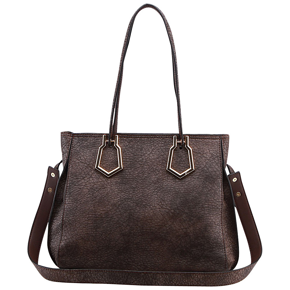 MKF Collection by Mia K. Farrow Jannet Shoulder Bag Brown - MKF Collection by Mia K. Farrow Manmade Handbags - Handbags, Manmade Handbags