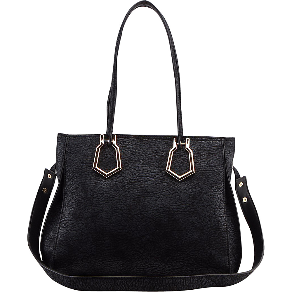 MKF Collection by Mia K. Farrow Jannet Shoulder Bag Black - MKF Collection by Mia K. Farrow Manmade Handbags - Handbags, Manmade Handbags