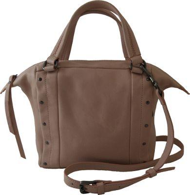 Joelle Hawkens by treesje Adora Mini Satchel Shell Pink - Joelle Hawkens by treesje Leather Handbags