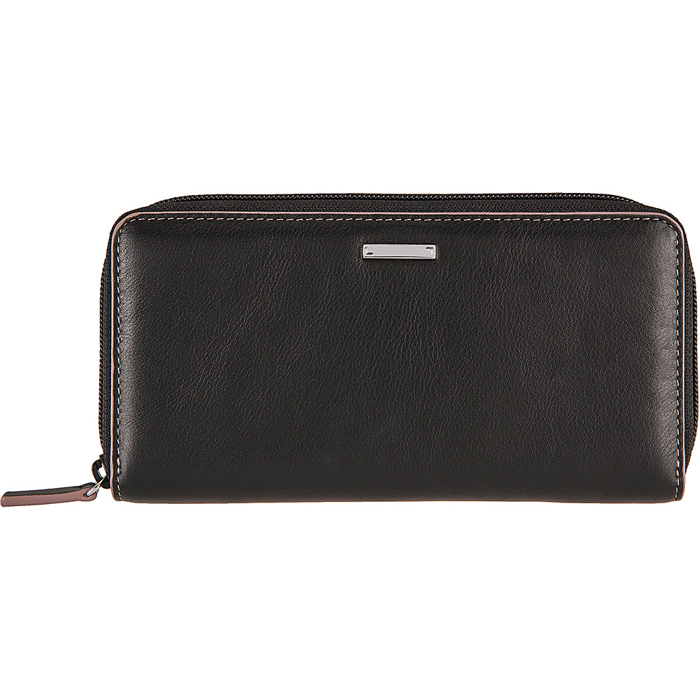 Lodis Mill Valley Under Lock & Key Ada Zip Wallet Black - Lodis Womens Wallets - Women's SLG, Women's Wallets