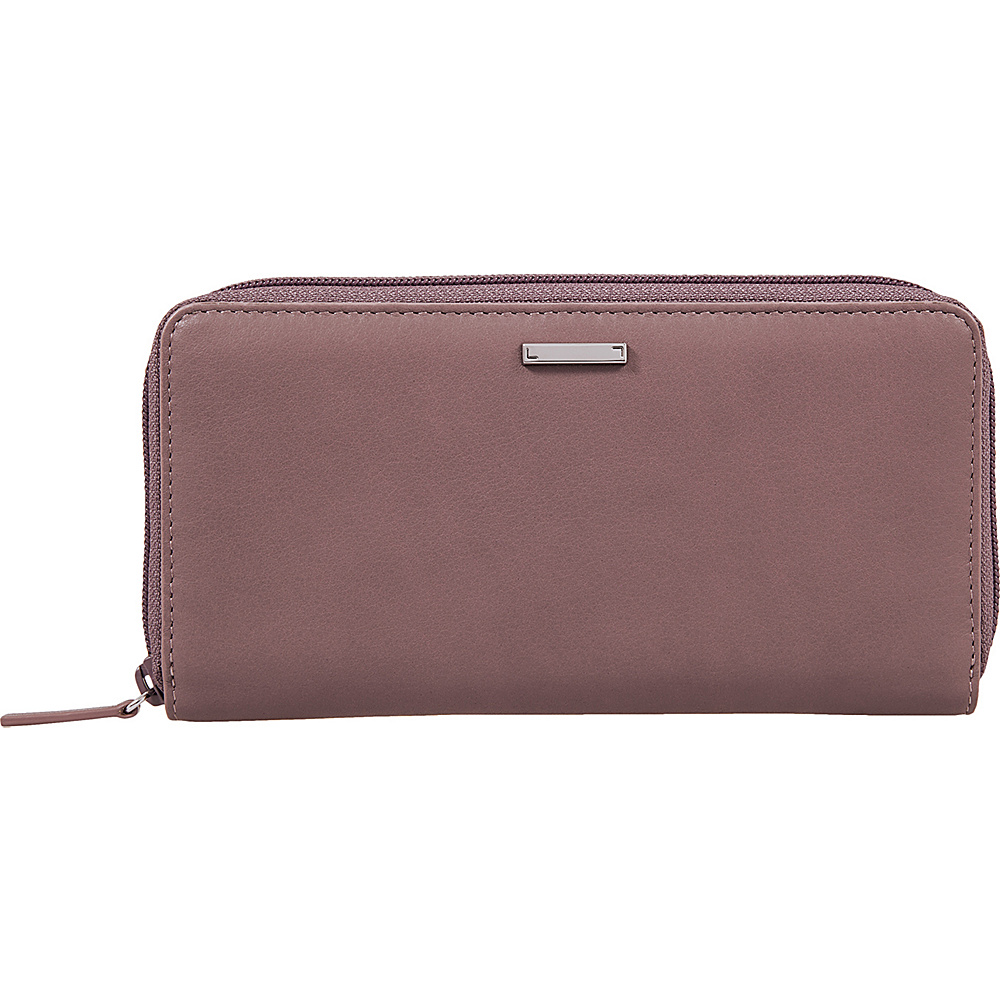 Lodis Mill Valley Under Lock & Key Ada Zip Wallet Lilac - Lodis Womens Wallets - Women's SLG, Women's Wallets