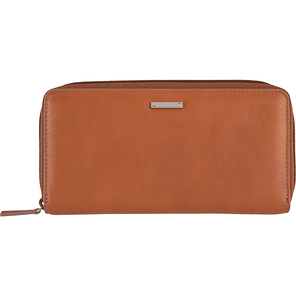 Lodis Mill Valley Under Lock & Key Ada Zip Wallet Toffee - Lodis Womens Wallets - Women's SLG, Women's Wallets
