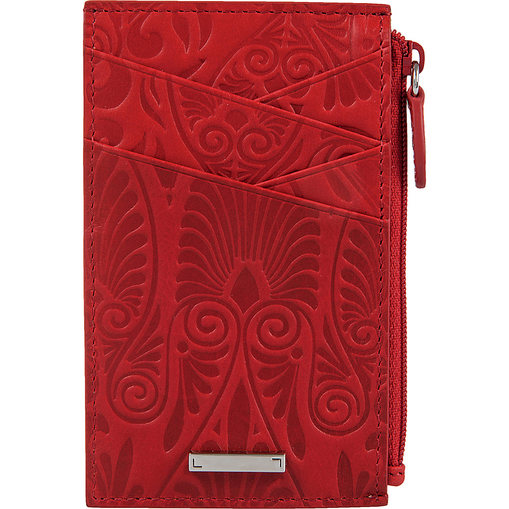 Lodis Denia Ina Card Case Red - Lodis Womens Wallets - Women's SLG, Women's Wallets
