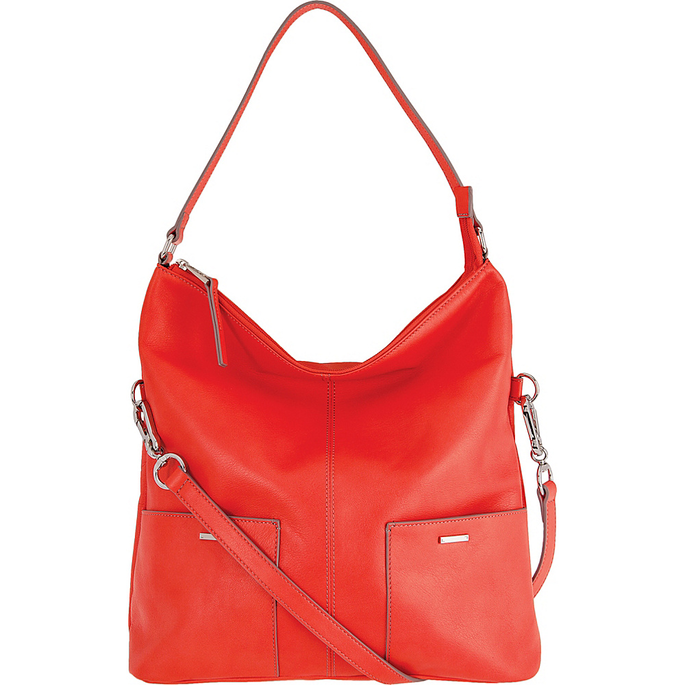 Lodis Mill Valley Under Lock & Key Tatiana Hobo Coral - Lodis Leather Handbags - Handbags, Leather Handbags