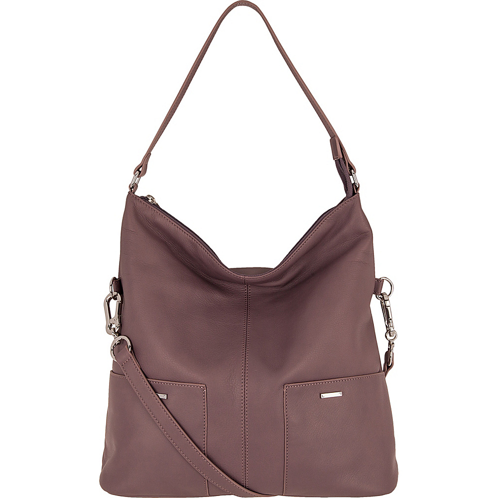 Lodis Mill Valley Under Lock & Key Tatiana Hobo Lilac - Lodis Leather Handbags - Handbags, Leather Handbags