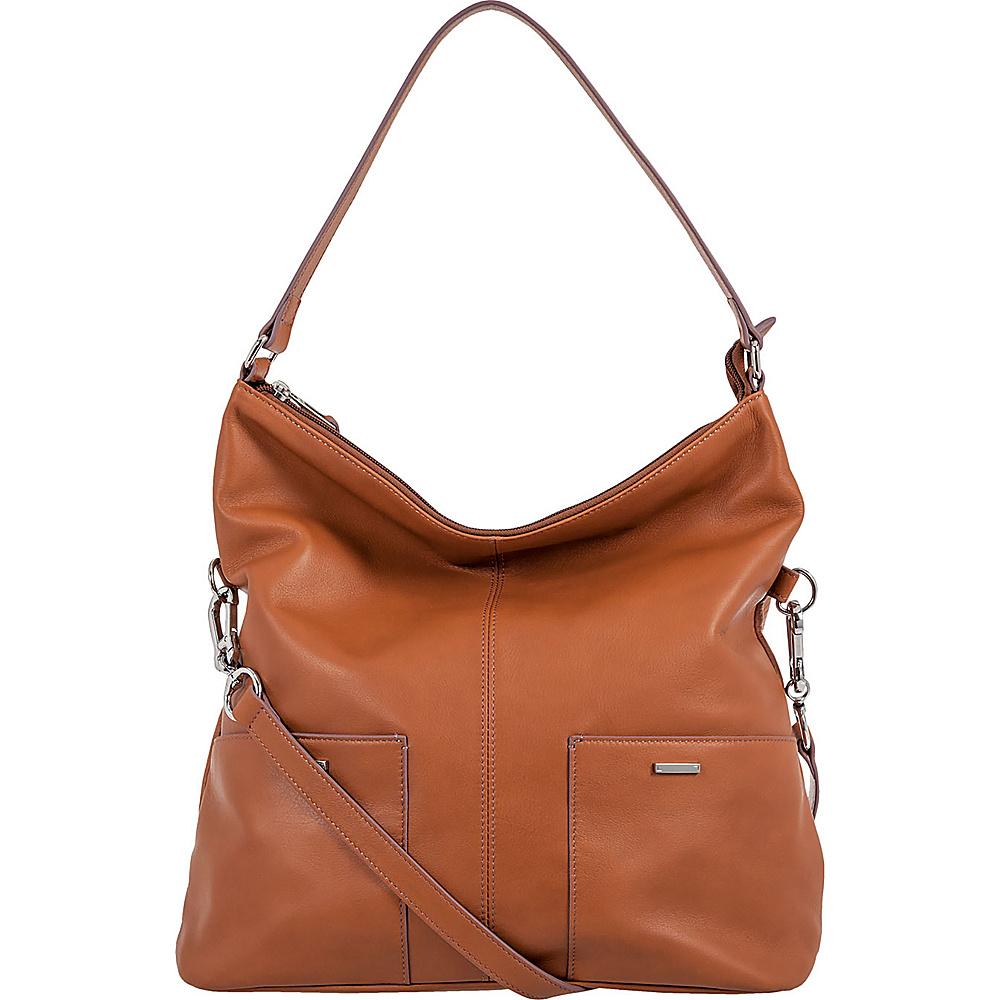Lodis Mill Valley Under Lock & Key Tatiana Hobo Toffee - Lodis Leather Handbags - Handbags, Leather Handbags