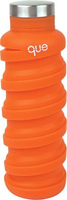 que Bottle Collapsible Silicone Water Bottle  20 oz Sunbeam Orange - que Bottle Hydration Packs and Bottles
