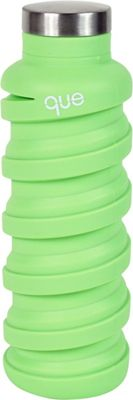 que Bottle Collapsible Silicone Water Bottle  20 oz Key Lime Green - que Bottle Hydration Packs and Bottles