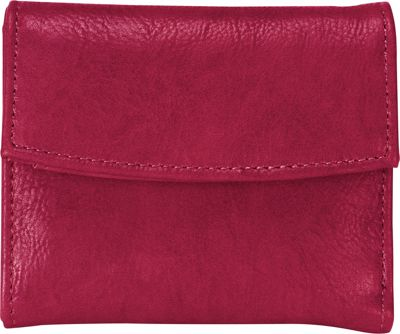 MoDa Womens Tri-Fold Wallet Sangria - MoDa Women's Wallets