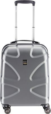 Titan Bags X2 Hardside 21 inch Spinner CarryOn Gunmetal - Titan Bags Kids' Luggage