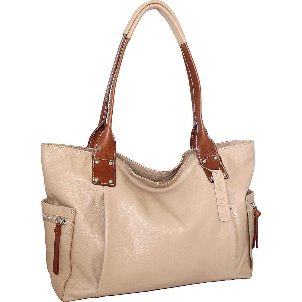 Nino Bossi Sylvie Shoulder Bag Sand - Nino Bossi Leather Handbags - Handbags, Leather Handbags