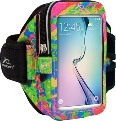 Armpocket ULTRA i-35 Adjustable Armband for Devices up to 6 inch - Medium Strap Length Splash - Armpocket Electronic Cases