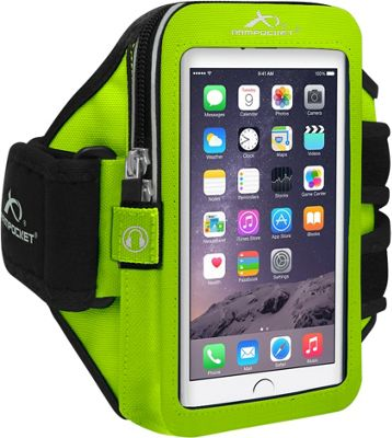 Armpocket ULTRA i-35 Adjustable Armband for Devices up to 6 inch - Medium Strap Length Yellow - Armpocket Electronic Cases