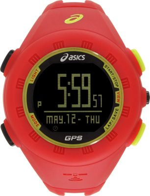 Asics GPS Watch Red - Asics Wearable Technology