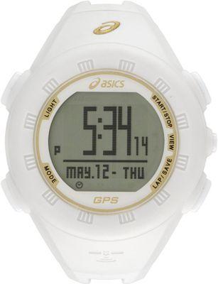 Asics GPS Watch White - Asics Wearable Technology