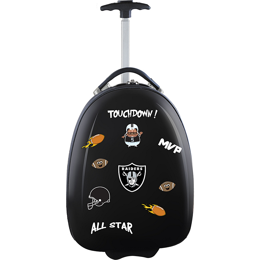 MOJO Denco Kids Luggage Pod Oakland Raiders - MOJO Denco Hardside Carry-On - Luggage, Hardside Carry-On