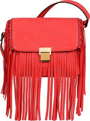Mellow World Ahri Clutch Red - Mellow World Manmade Handbags