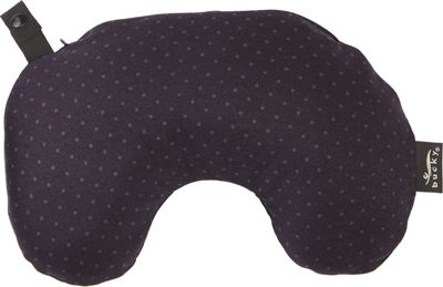 Bucky Minnie Compact Neck Pillow with Snap & Go Gray Dot - Bucky Travel Comfort and Health